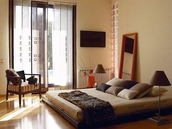 Asian Bedroom Style Zen Elements
