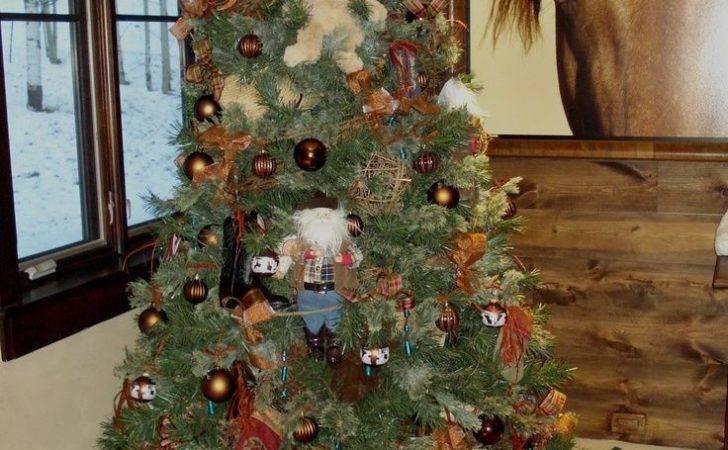 Aspen Christmas Decorations Cowboy Tree Branch