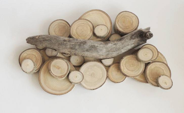 Aspen Tree Slice Wall Hanging Reclaimed Wood Art Ring