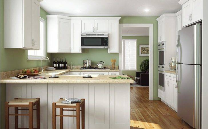 Aspen White Shaker Ready Assemble Kitchen Cabinets