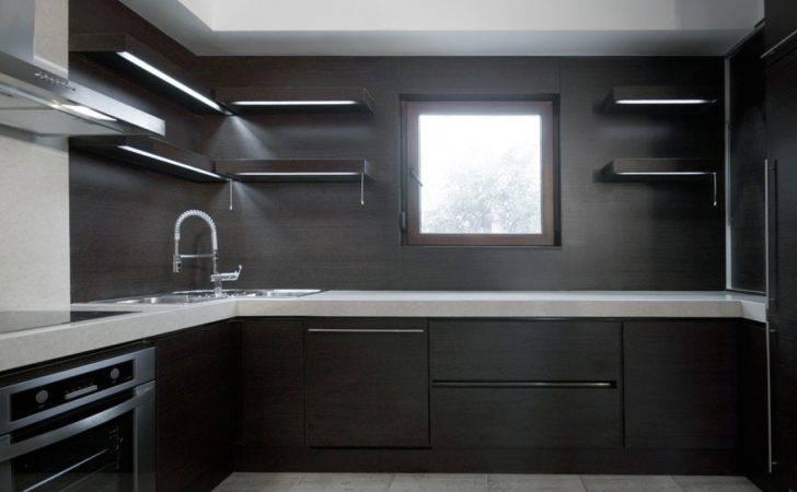 Astonishing Modern Kitchen Cabinet Doors Black Wood Material Feat