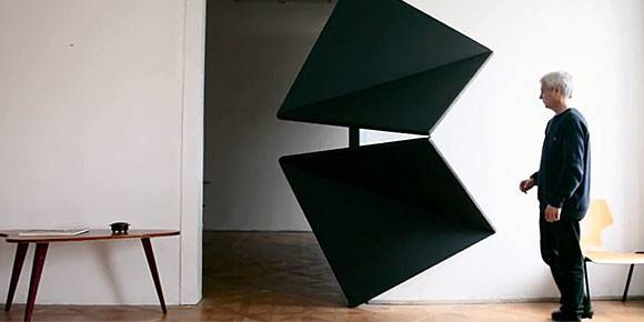 Austrian Artist Reinvents Door Innovative Folding