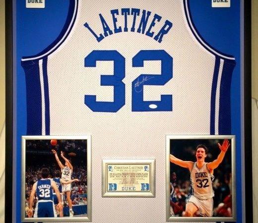 Autographed Framed Jerseys Basketball