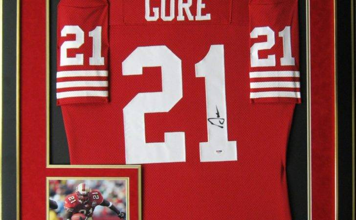 Autographed Frank Gore Jerseys Authentic Signed Nfl Jersey