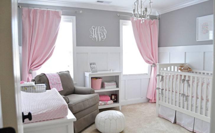 Ava Sweet Gray Pink Nursery Project