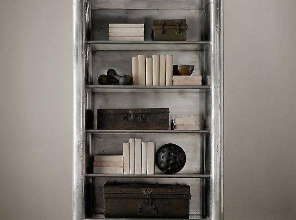 Aviator Single Shelving Restoration Hardware Bookcase