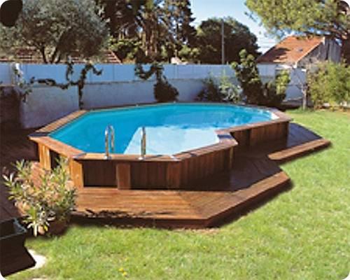 Awesome Above Ground Pool Deck Designs Spp Inground Kit Blog