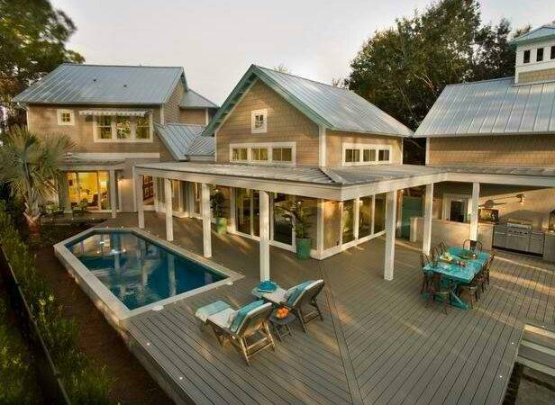 Awesome Back Deck Outdoor Spaces Pinterest