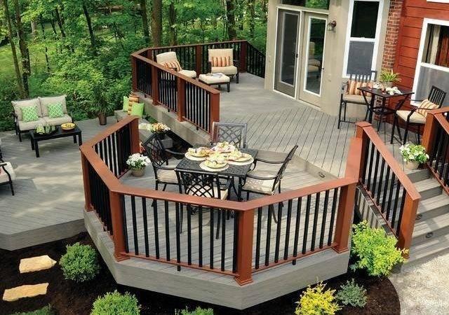 Awesome Backyard Deck Design Ideas Lattest