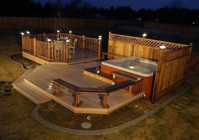 Awesome Deck Designs Needs Roof Just Case Rains