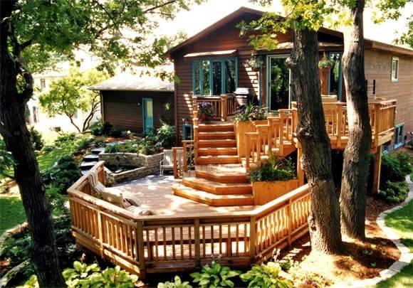 Awesome Deck Home Ideas Pinterest