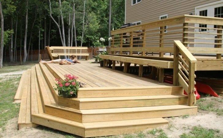 Awesome Deck Husband Built Home Gardening Pinterest