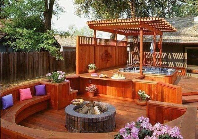 Awesome Deck Idea Home Hearth Pinterest