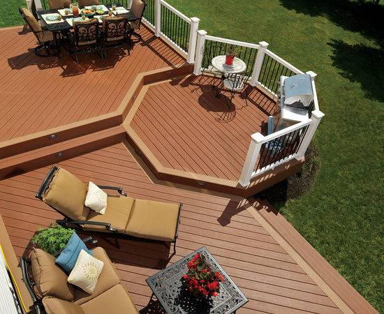 Awesome Deck Ideas Beautiful Homes Design