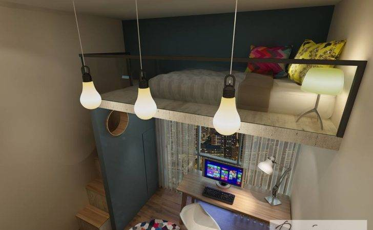 Awesome Designer Created Extra Space Loft Bed