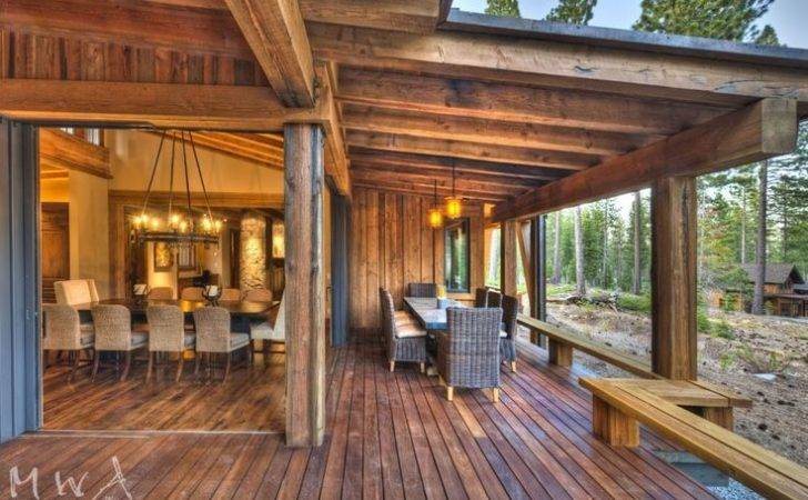 Awesome Inside Outside Deck Architecture Future House Pinterest