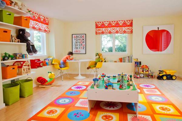Awesome Kids Playroom Ideas Home Design Interior