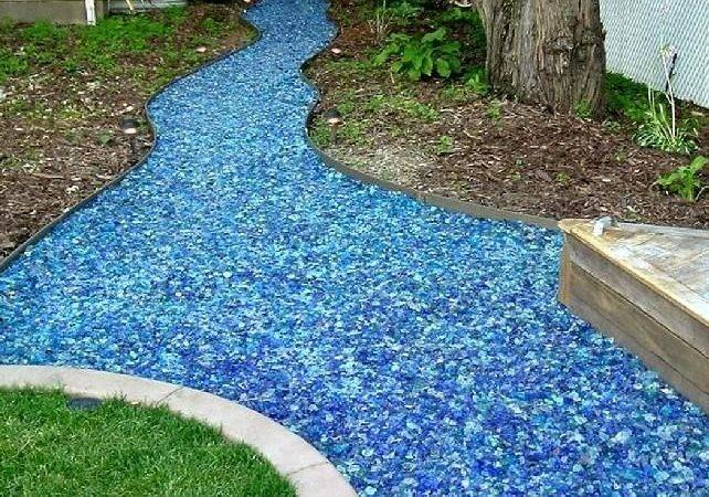 Awesome Landscape Glass Mulch Tumbled
