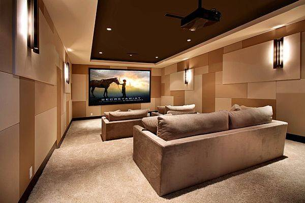 Awesome Media Rooms Designs Decorating Ideas Room