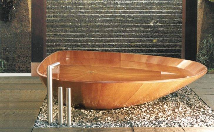 Awesome Oval Wooden Bathtub High Standing Tub Chrome Over