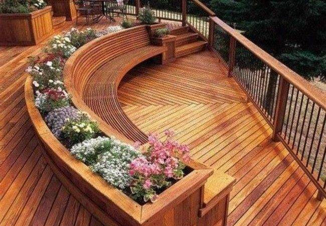 Awesome Patio Deck Designs Yard Pinterest