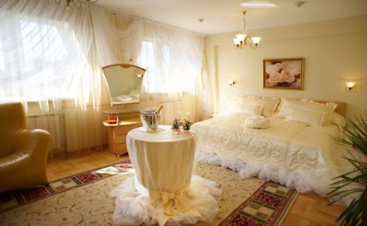 Awesome White Wedding Night Room Decoration Ideas Uploaded Bila