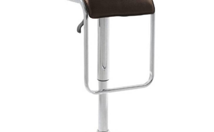 Azumi Lem Style Upholstered Bar Stool Brown Ebay