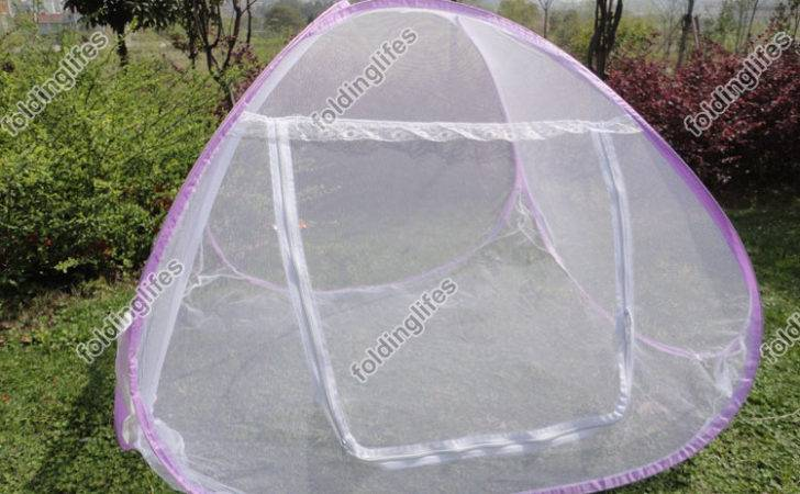 Baby Kids Toddler Bed Crib Pop Canopy Mosquito Tent Hut Ebay