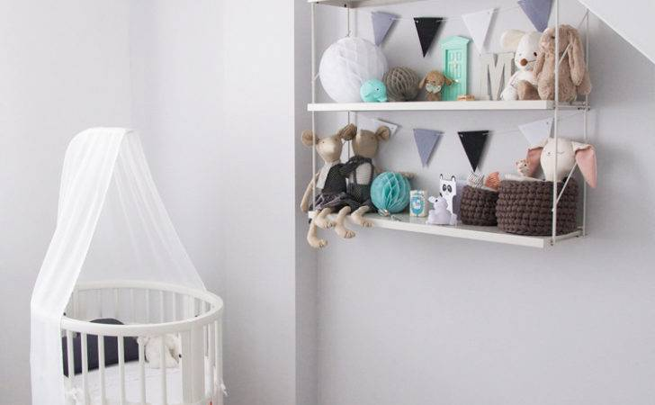 Baby Nursery Scandinavian Black White
