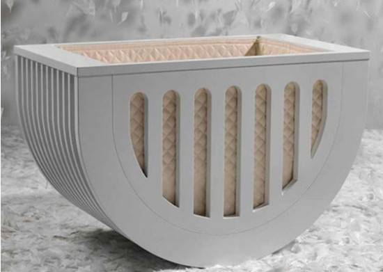 Baby Suommo Cradle Modern Nursery Decor Luxury Furniture
