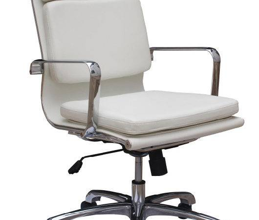 Back Executive Contemporary Office Leather Swivel Conference Chair