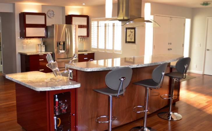 Back White Granite Countertop Kitchen Penny Nice Kitchens Modern