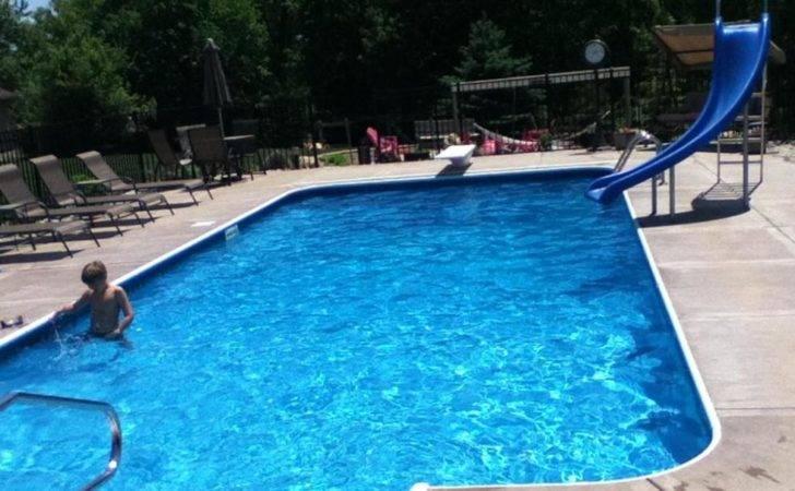 Back Yard Swimming Pools Slides Semester Washington