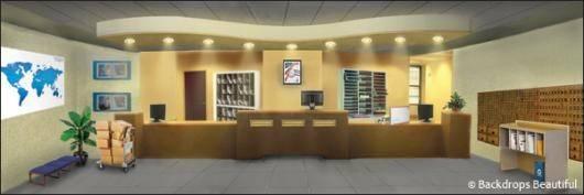Backdrops Office Reception