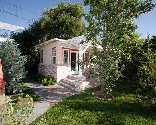 Backyard Guest House Homeowners Built Add Their Current Home