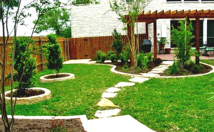 Backyard Ideas Grass Awesome Consider Lawn Design