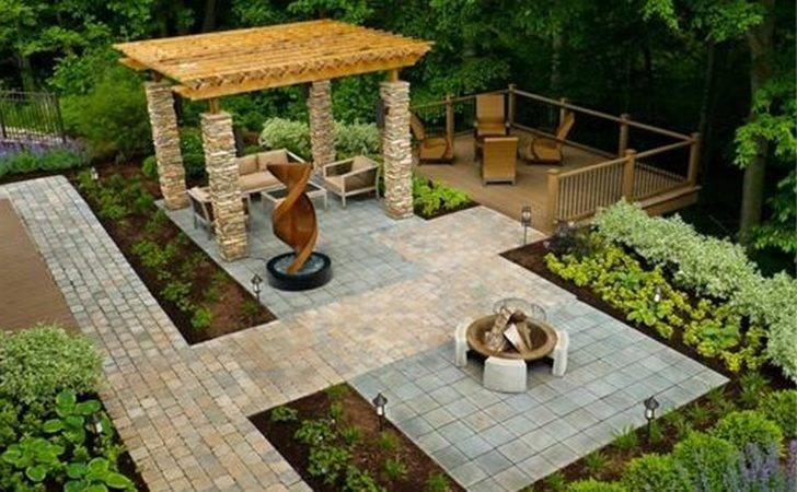 Backyard Landscape Design Ideas House Modern Garden