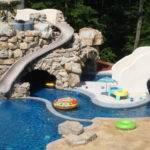 Backyard Lazy River Design Home Ideas