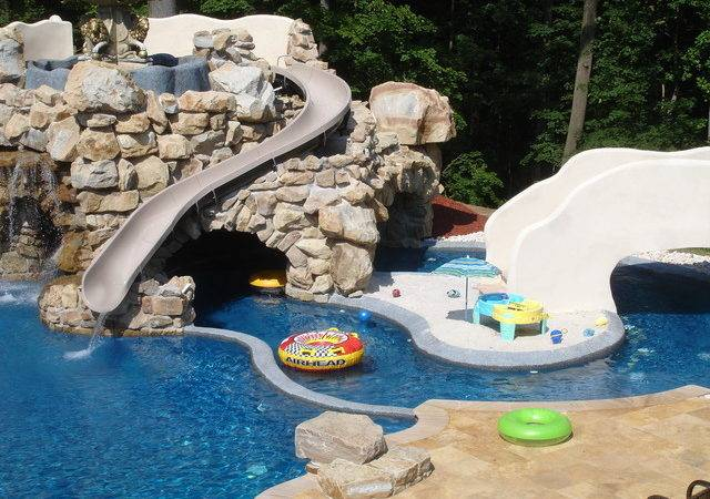 Backyard Lazy River Design Home Ideas