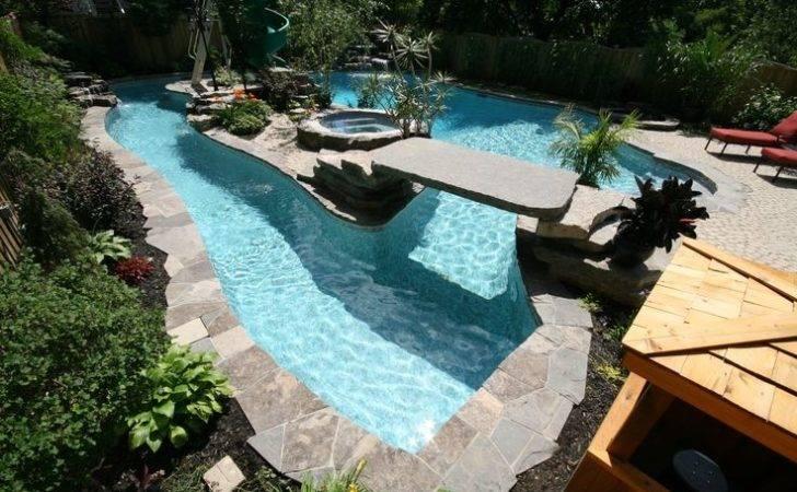 Backyard Lazy River Home Design