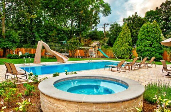 Backyard Pool Design Ideas Hot Summer