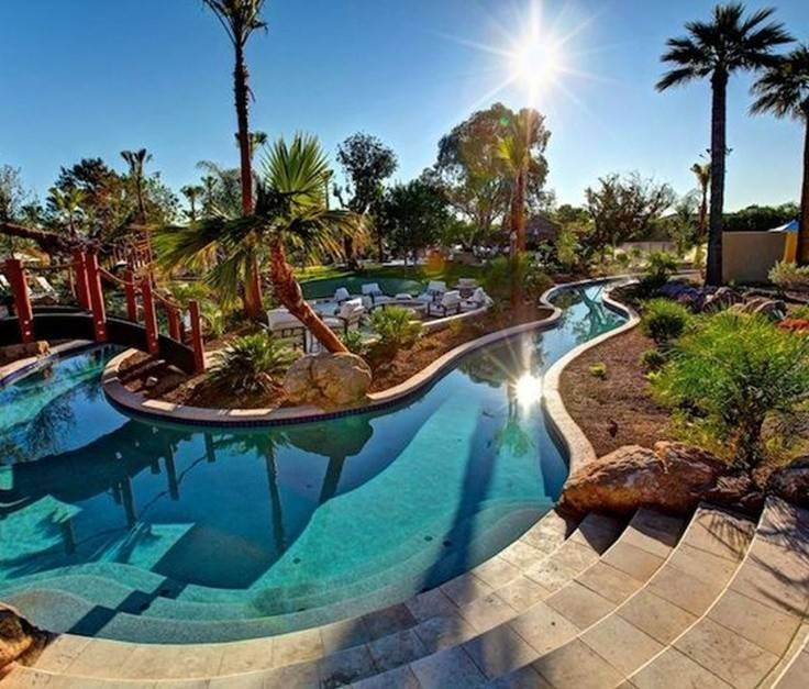 Backyard Pool Designs Large Ideas Decorate