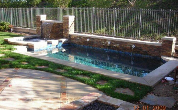 Backyard Pool Designs Small Yards Soaking Pools