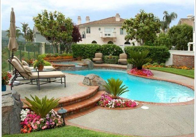 Backyard Pool Homeexteriorinterior