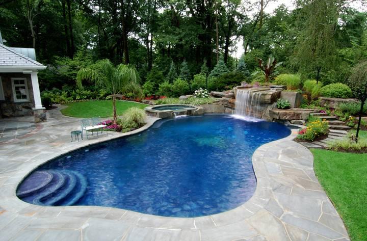 Backyard Pool Spa Ideas Design