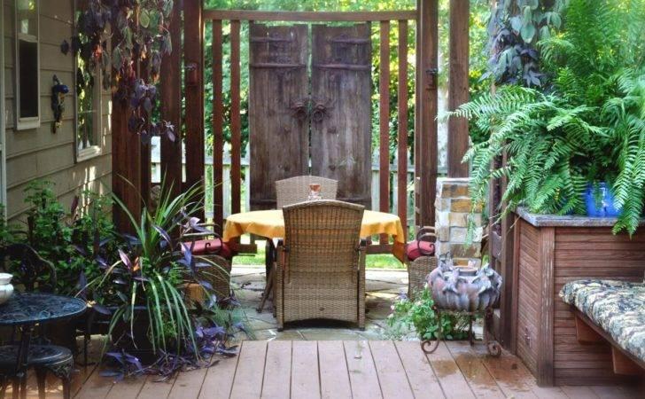 Backyard Privacy Ideas Outdoor Spaces Patio Decks Gardens