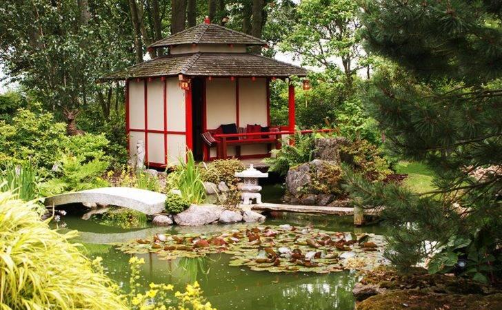 Backyard Regard Chinese Garden Design Decorating Ideas