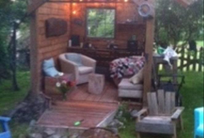 Backyard Retreat Outside Ideas Pinterest