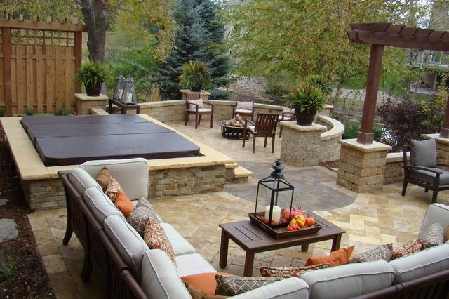 Backyard Retreat Traditional Patio Minneapolis Superior