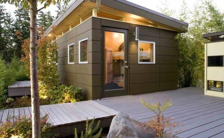 Backyard Small House Pinterest Plans Guest